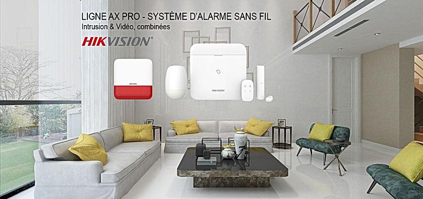installateur alarme intrusion hikvision