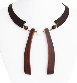 rosewood white coral red tigers eye