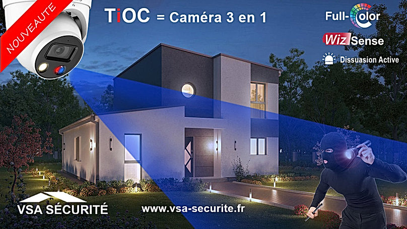 vsa securite dahua tioc full color wizse