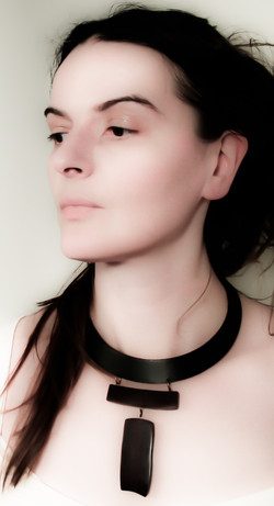 rosewood leather necklace