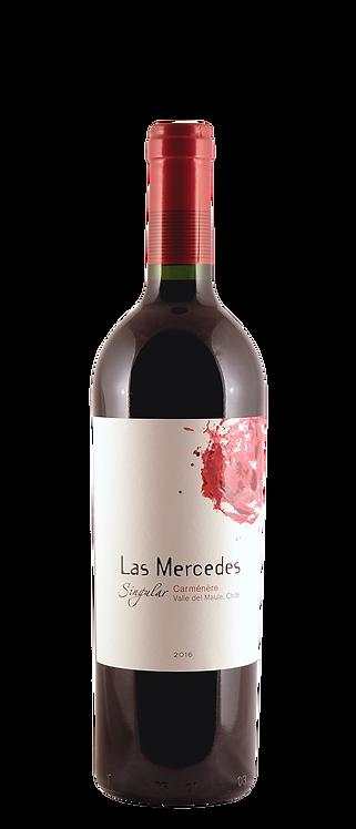 Bouchon - Las Mercedes Singular Carmenère 2016