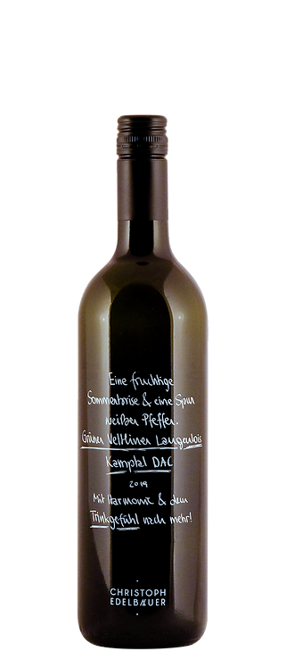 Weingut Christoph Edelbauer - Gruner Veltliner Langenlois Kamptal DAC 2019