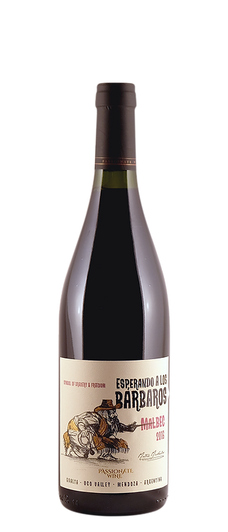 Michelini Brothers - Passionate Wines Esperando Los Barbaros Malbec 2017