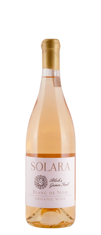 Solara Organic Wines - Solara Organic Blanc de Noir Rosé 2019