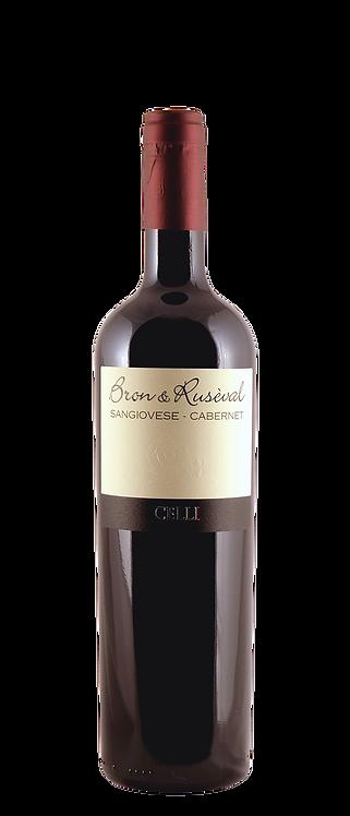 Celli - Bron & Ruseval Sangiovese-Cabernet Sauvignon Forli IGT 2015