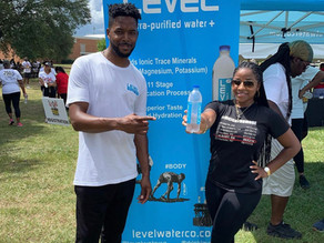 LEVEL SPONSORS TOYA WRIGHT'S 5K RACE