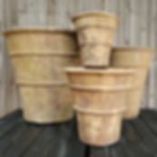 Set of 4 Catania Pots