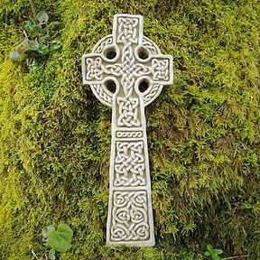 Celtic Cross Plaque D