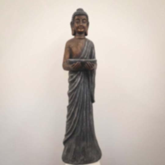 Buddha and Dish