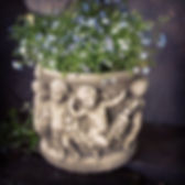 Cherub Pot Small