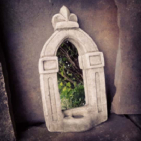 Stone Candle Mirror