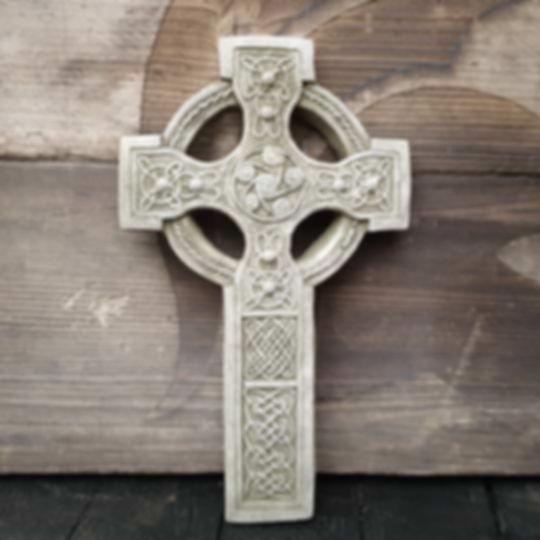 Celtic Cross Plaque F