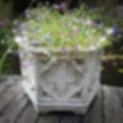 Gothic Hexagonal Pot