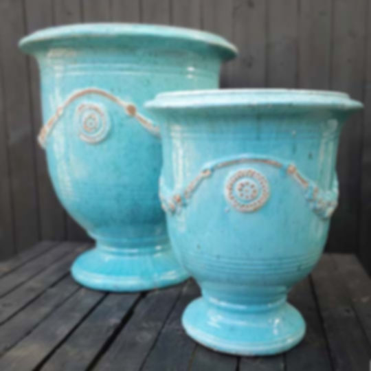 Set of 2 Anduze Urns