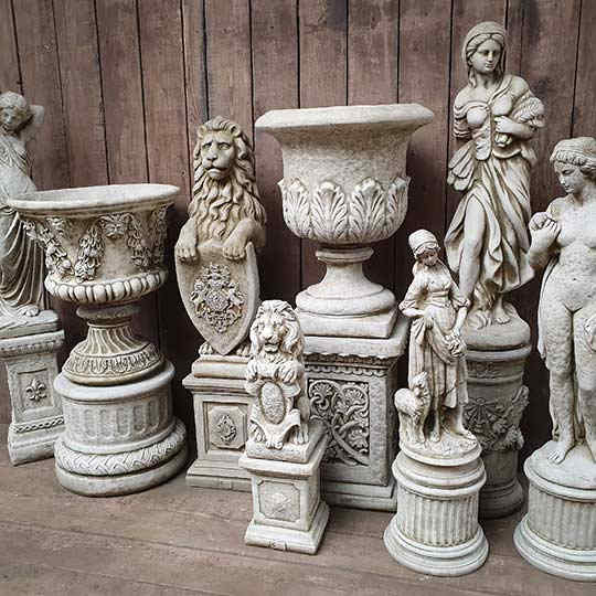 Plinths and Columns