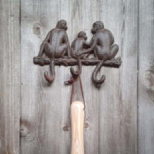 Iron Monkey Tail Hooks