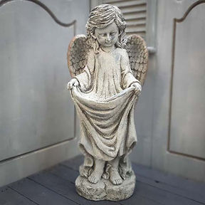 Angel with Bird Feeder 'C'
