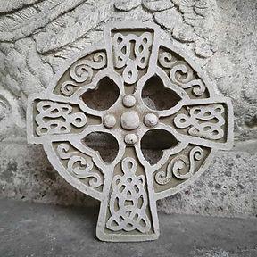 Celtic Cross Plaque A