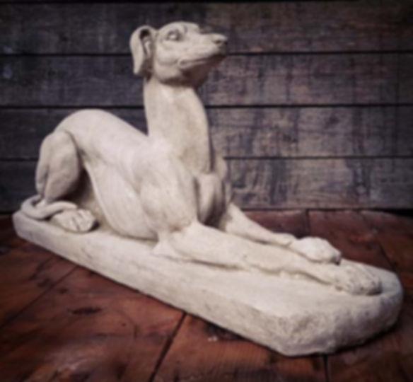 Recumbent Greyhound