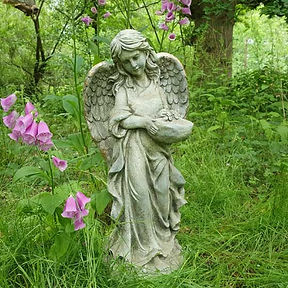 Angel with Bird Feeder 'B'