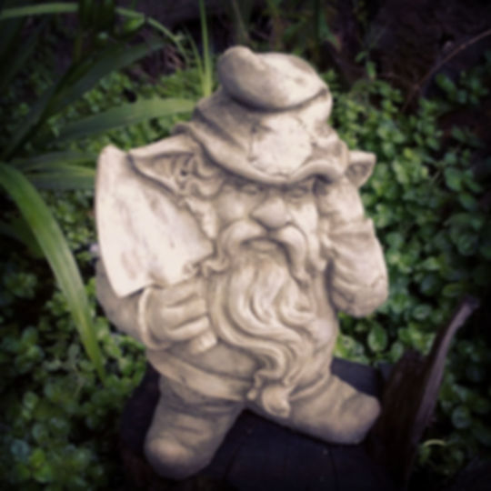 Gnome with Trowel