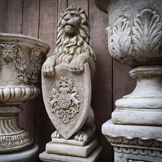 Finials, Lions and Features