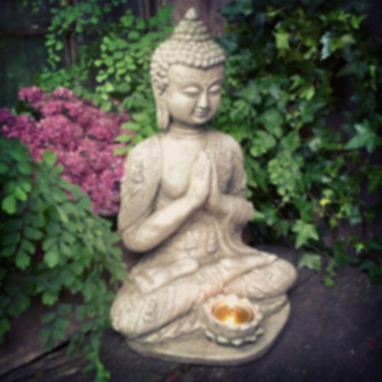 Lotus Tealight Buddha Small