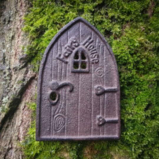 Iron Fairy Door