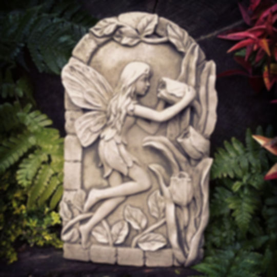Fairy and Flowers Plaque