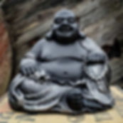Laughing Buddha Black