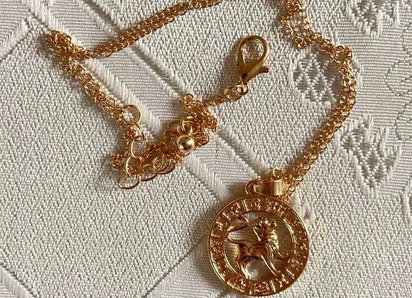 leo constellation necklace