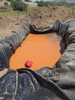 Red mud pit ??
