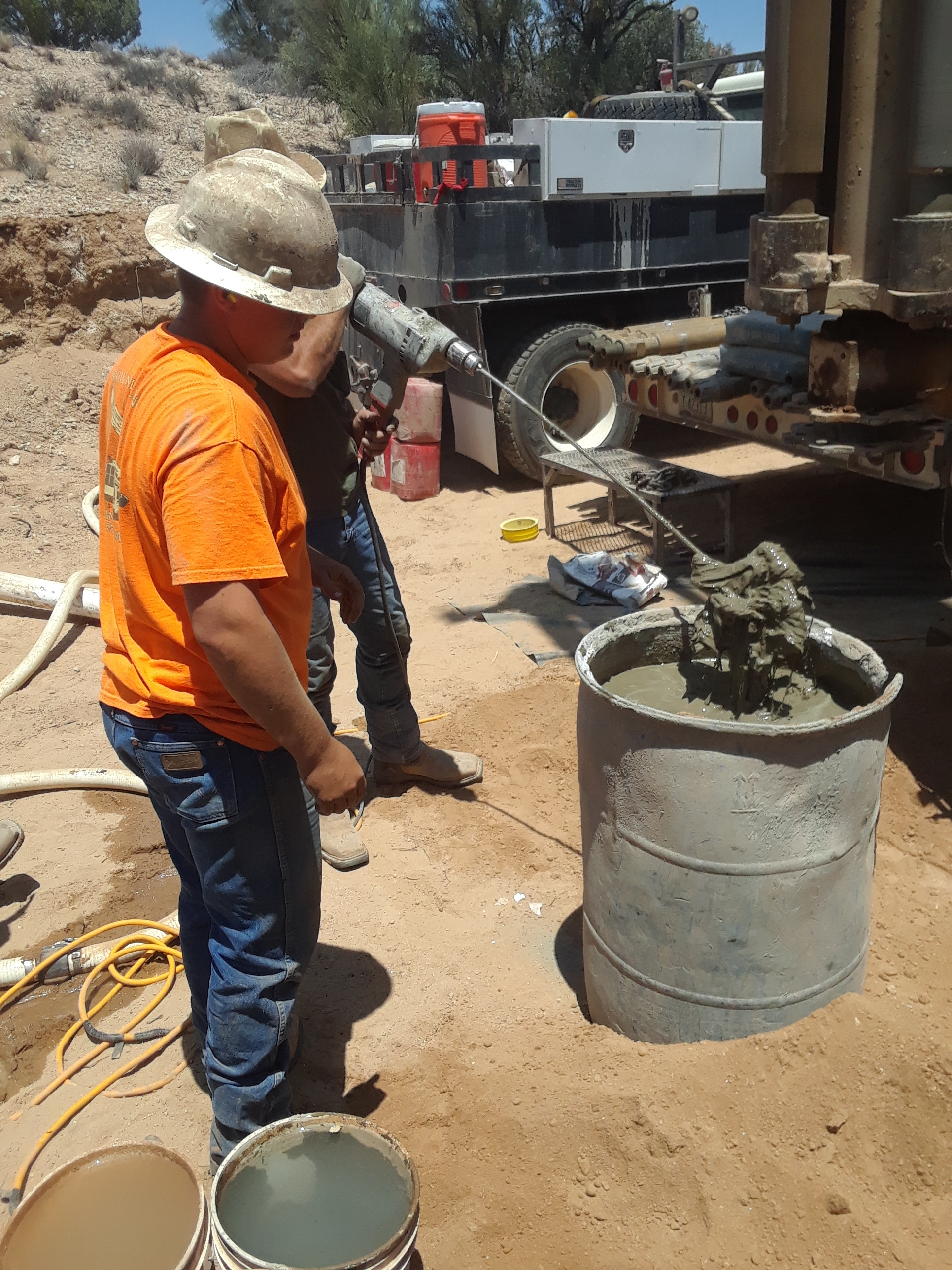 Prepping Concrete to seal surface conductor