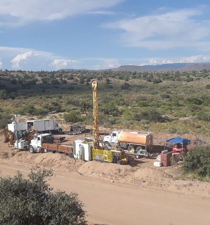 K-13 core drilling