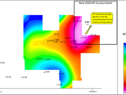 Geophysical Survey Underway at Bell Copper's Perseverance Project in Arizona