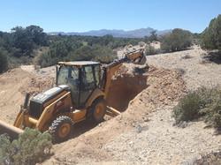 Digging Mud Pit