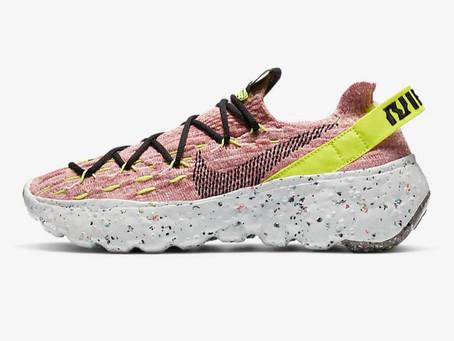 Nike çöplerden ayakkabı üretti.