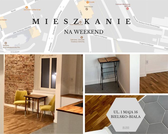 Mieszkanie na weekend w Bielsku-Białej