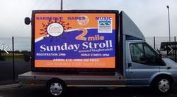 Large mobile screen advertising 1