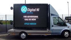 Large mobile screen advertising