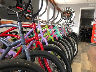 Colorful Rental Bikes