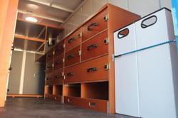 fourgon plywood avec aménagement int