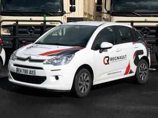 Les nouvelles voitures Regnault !