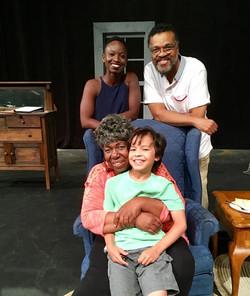 Baadja, Van, Faith & William