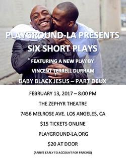 PlayGround-LA - Baby Black Jesus - Part Deux