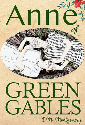 mockup anne of green gables front cover