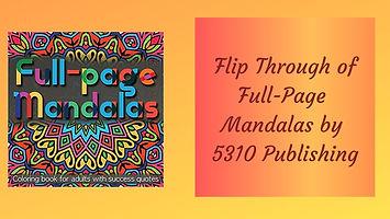 Full Page Mandalas