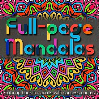 Full-Page Mandalas