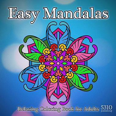 Easy Mandalas by 5310 publishing