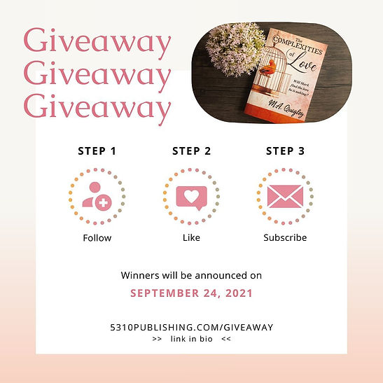 giveaway the complexities of love september romance fiction book giveaway